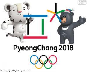 Puzzle de Juegos Olímpicos de Pyeongchang 2018