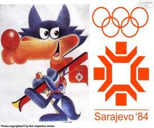 Puzzle de Juegos Olímpicos de Sarajevo 1984