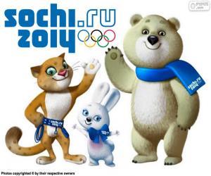 Puzzle de Juegos Olímpicos de Sochi 2014