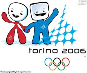 Puzzle de Juegos Olímpicos de Turín 2006