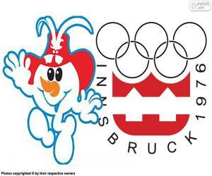 Puzzle de Juegos Olímpicos Innsbruck 1976