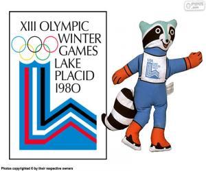 Puzzle de Juegos Olímpicos Lake Placid 1980