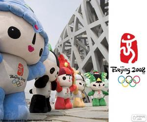 Puzzle de Juegos Olímpicos Pekín 2008