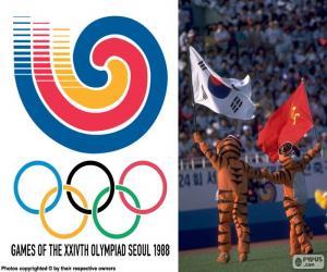 Puzzle de Juegos Olímpicos Seúl 1988