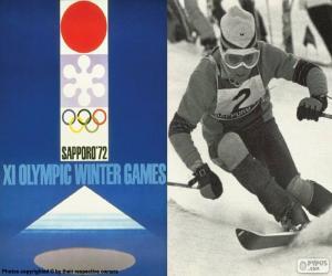 Puzzle de Juegos Olímpicos de Sapporo 1972