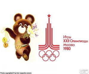 Puzzle de Juegos Olímpicos Moscú 1980
