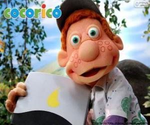 Puzzle de Julio, el niño de la Granja Cocoricó