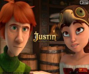 Puzzle de Justin y Talia