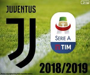 Puzzle de Juve, campeón 2018-2019