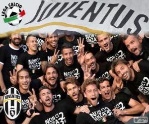 Puzzle de Juventus campeón 2013-20014
