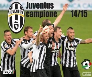 Puzzle de Juventus campeón 2014-20015