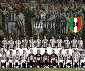 Puzzle de Juventus campeón 2015-20016