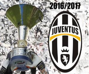 Puzzle de Juventus, campeón 2016-2017