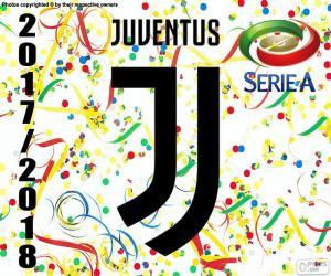 Puzzle de Juventus, campeón 2017-2018