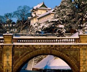 Puzzle de Kōkyo el Palacio Imperial de Japón, Tokio
