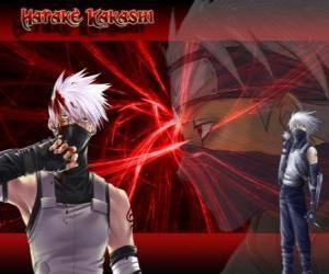 Puzzle de Kakashi Hatake, maestro de ninjas