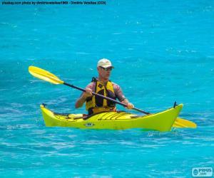 Puzzle de Kayak de mar