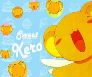 Puzzle de Kero o Kerberos es el guardián del libro que contiene las cartas de Clow