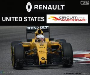 Puzzle de Kevin Magnussen, GP USA 16