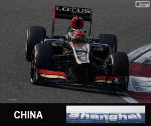 Puzzle de Kimi Raikkonen - Lotus - Gran Premio de la China 2013, 2º Clasificado