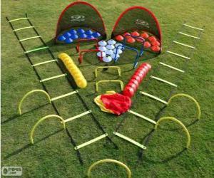Puzzle de Kit de entrenamiento Fútbol