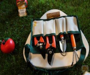Puzzle de Kit herramientas de jardineria