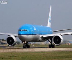 Puzzle de KLM Royal Dutch Airlines, Países Bajos