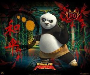 Puzzle de Kung Fu Panda