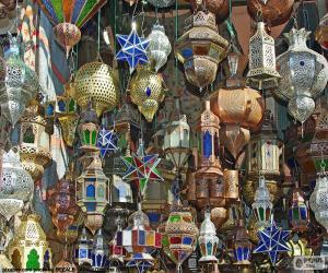 Puzzle de Lámparas marroquíes