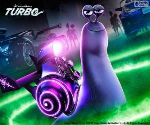 Puzzle de Látigo del film Turbo