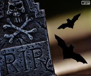 Puzzle de Lápida RIP
