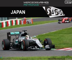 Puzzle de L. Hamilton, GP Japón 2016