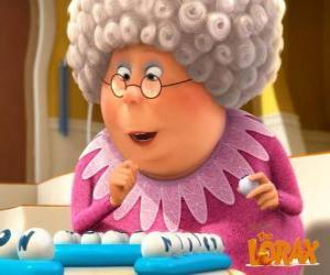 Puzzle de La abuela Norma, está llena de vida y de energía
