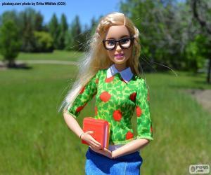 Puzzle de La Barbie universitaria