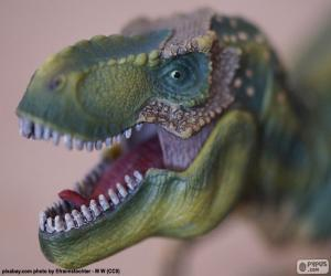 Puzzle de La cabeza de un dinosaurio