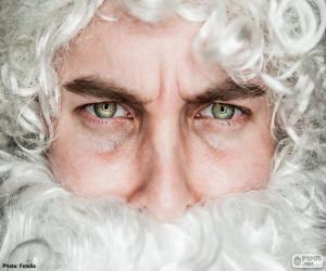 Puzzle de La cara de Papá Noel