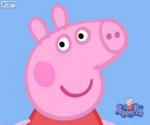 Puzzle de La cara de Peppa Pig