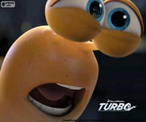 Puzzle de La cara de Turbo