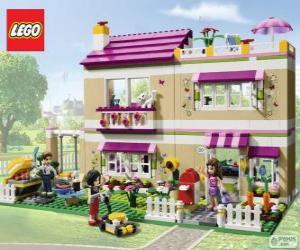 Puzzle de La casa de Olivia, Lego Friends