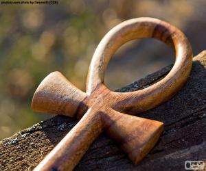Puzzle de La cruz egipcia Ankh