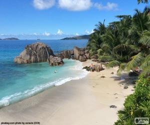 Puzzle de La Digue, Seychelles