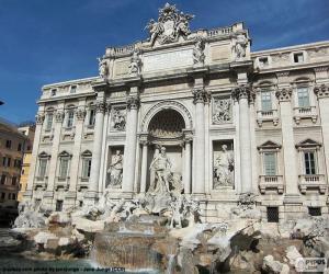 Puzzle de La Fontana di Trevi, Roma