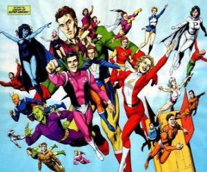Puzzle de La Legión de Super-Héroes es un grupo de superhéroes perteneciente a los cómics del universo perteneciente a la editorial DC.