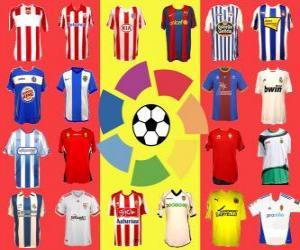 Puzzle de La Liga Española de Fútbol