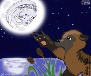 Puzzle de La luna y el oso