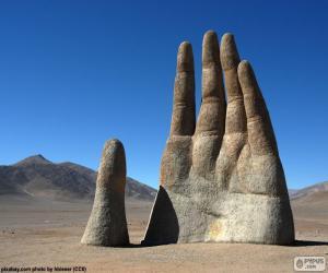 Puzzle de La Mano del desierto, Chile