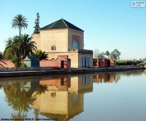 Puzzle de La Menara, Marruecos