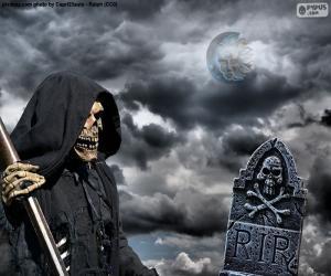 Puzzle de La muerte, Halloween