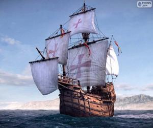 Puzzle de La nave Santa María