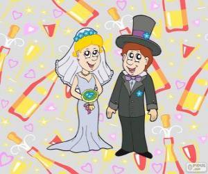Puzzle de La novia y el novio